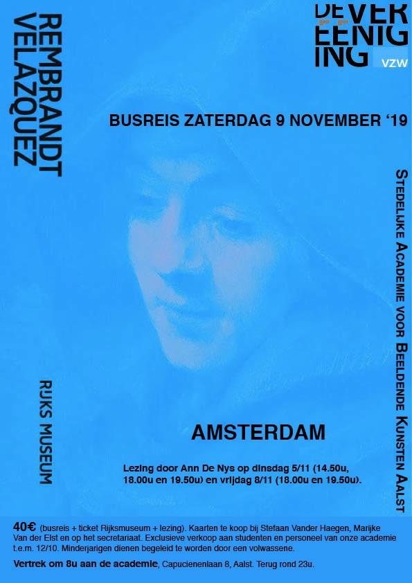 Busreis 9 november '19  Rijksmuseum Amsterdam Rembrandt/Velazquez