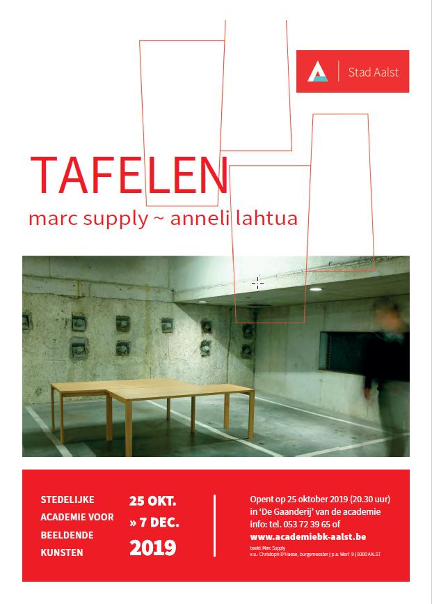 Nieuwe tentoonstelling: Tafelen