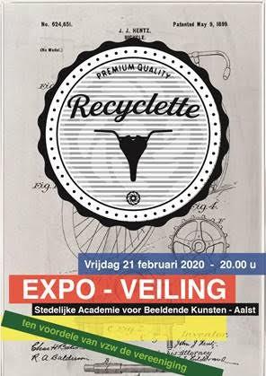 Recyclette - Expo/veiling ten voordele van VZW De Verééniging.