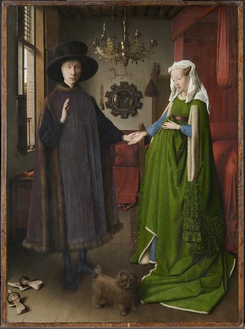 Weg van het meesterwerk - Van Eyck - Het Arnolfini-portret