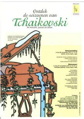 Ontdek de seizoenen van Tchaikovski