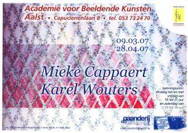 Tentoonstelling / Mieke Cappaert / Karel Wouters