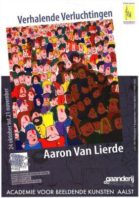 Tentoonstelling / Verhalende Verluchtingen / Aaron Van Lierde