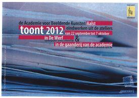 Tentoonstelling / Eindwerken 2012