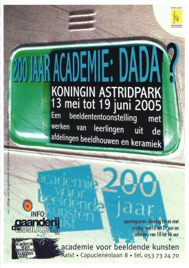 200 jaar Academie / DADA ?