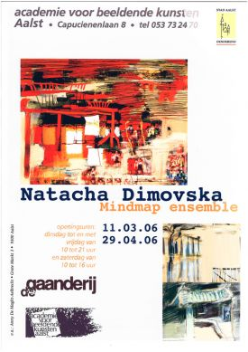 Tentoonstelling / Natacha Dimovksa / Mindmap Ensemble