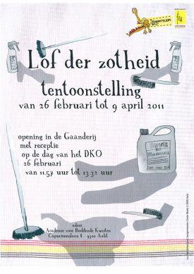 Tentoonstelling / Lof Der Zotheid